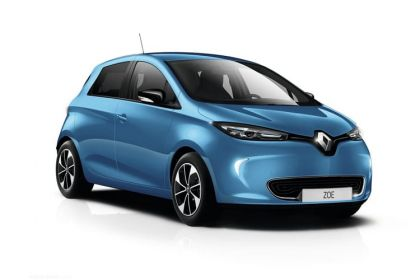 Lease Renault Zoe car leasing