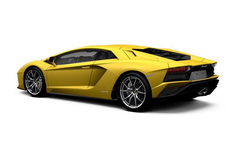 Lamborghini Aventador Coupe 6.5 V12 770PS LP 770-4 SVJ 2Dr ISR back view
