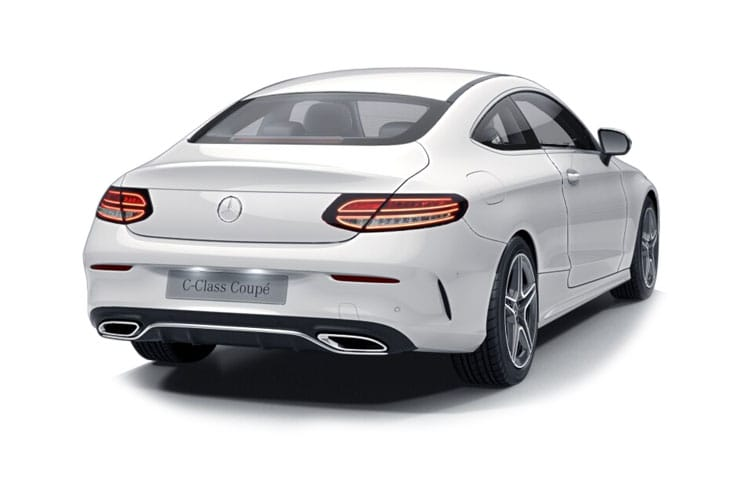 Mercedes-Benz C Class AMG C43 Coupe 4MATIC 3.0 V6 390PS Edition Premium 2Dr G-Tronic+ [Start Stop] back view