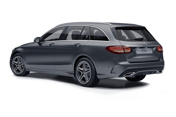 Mercedes-Benz C Class C300 Estate 2.0  258PS AMG Line Night Edition 5Dr G-Tronic+ [Start Stop] [Premium Plus] back view