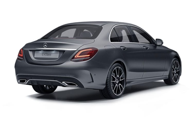 Mercedes-Benz C Class C200 Saloon 1.5 MHEV 198PS Sport Edition 4Dr G-Tronic+ [Start Stop] back view
