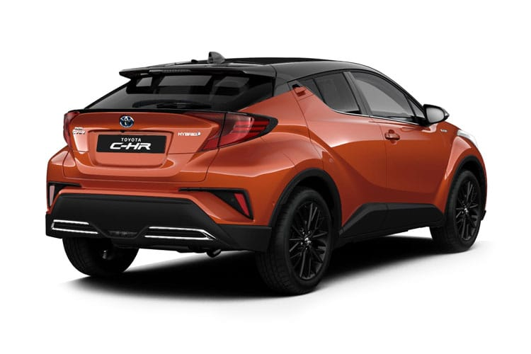 Toyota C-HR 5Dr 2.0 VVT-h 184PS Dynamic 5Dr CVT [Start Stop] [Lthr] back view
