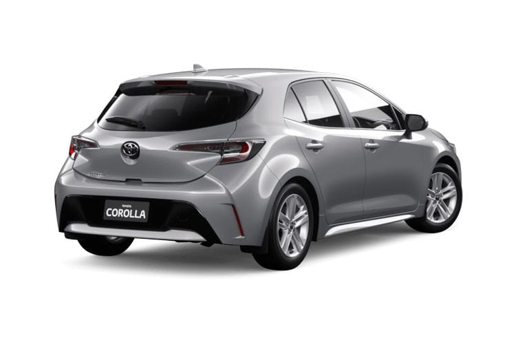 Toyota Corolla Hatch 5Dr 2.0 VVT-h 184PS Design 5Dr CVT [Start Stop] [Pan Roof] back view