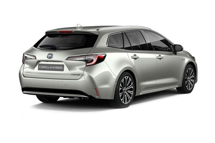 Toyota Corolla Touring Sports 2.0 VVT-h 184PS Icon Tech 5Dr CVT [Start Stop] back view