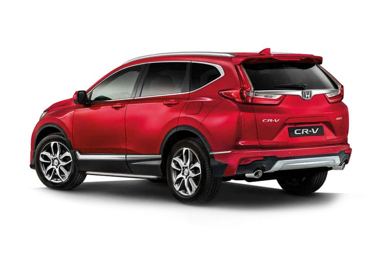 Honda CR-V SUV 2WD 2.0 h i-MMD 184PS S 5Dr eCVT [Start Stop] back view