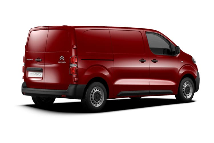Citroen Dispatch XL 1000Kg 1.5 BlueHDi FWD 100PS Enterprise Van Manual [Start Stop] back view