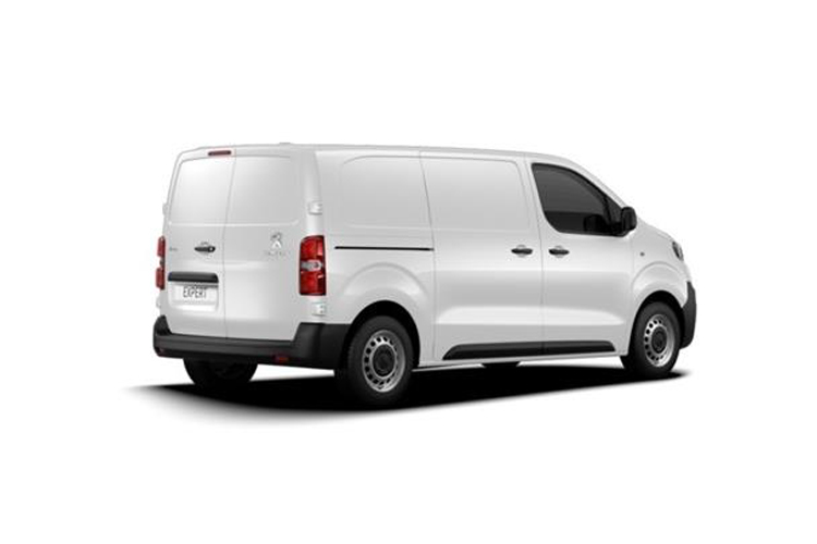 Peugeot Expert Standard 1400Kg 2.0 BlueHDi FWD 120PS Asphalt Van Manual [Start Stop] back view
