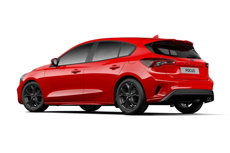 Ford Focus Hatch 5Dr 1.0 T EcoBoost 125PS Titanium Edition 5Dr Auto [Start Stop] back view