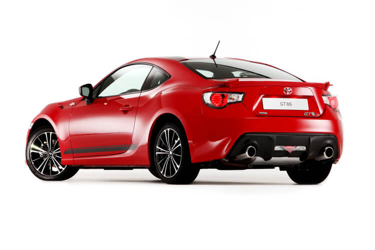 Toyota GT86 Coupe 2Dr 2.0 Boxer D-4S 200PS Pro 2Dr Manual [Touch & Go] back view