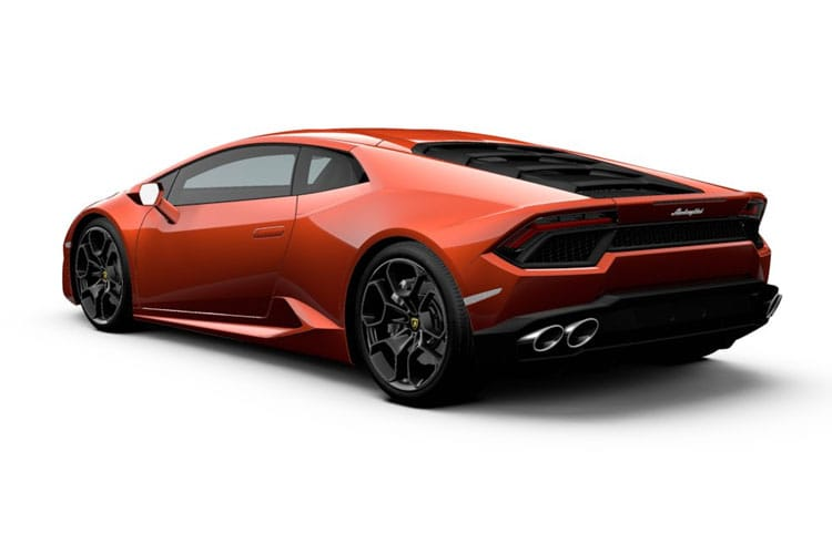 Lamborghini Huracan Coupe 5.2 V10 610PS LP 610-4 2Dr LDF [Start Stop] back view