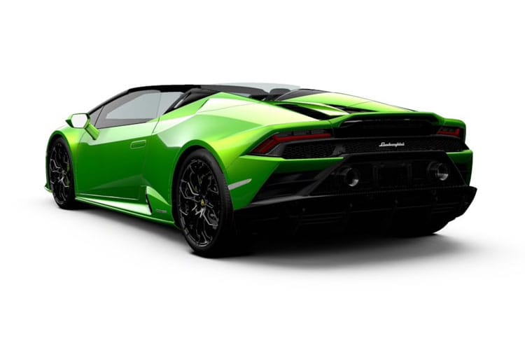 Lamborghini Huracan Spyder RWD 5.2 V10 610PS LP 610-2 EVO 2Dr LDF [Start Stop] back view