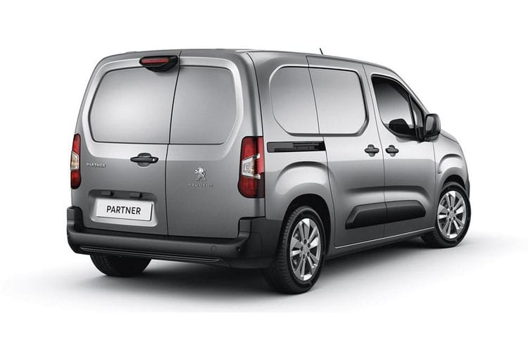 Peugeot Partner Standard 1000Kg 1.5 BlueHDi FWD 75PS Grip Van Manual [Start Stop] back view