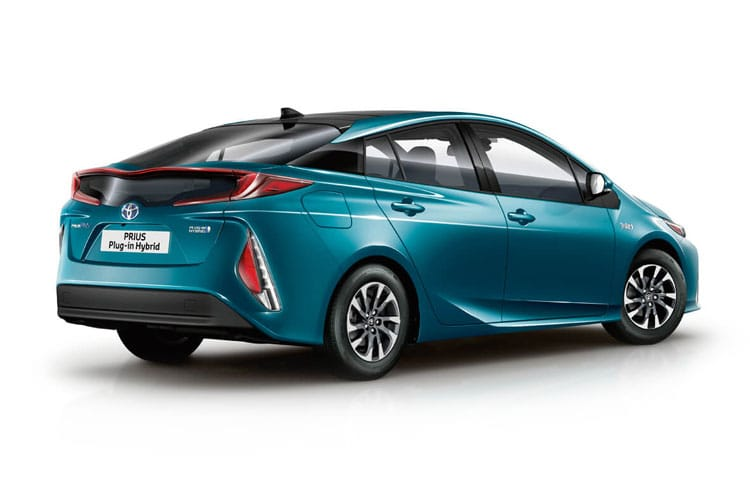 Toyota Prius PiH Hatch 5Dr 1.8 VVT PiH 8.8 kWh 122PS Excel 5Dr CVT [Start Stop] back view