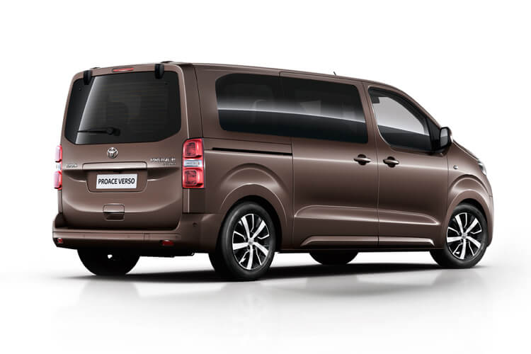 Toyota PROACE Verso Long 2.0 D FWD 150PS Shuttle MPV Manual [Start Stop] [9Seat] back view