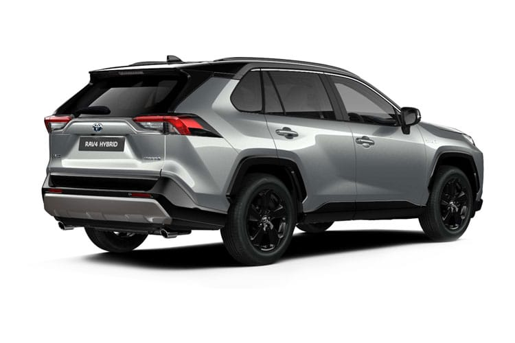 Toyota RAV4 SUV 2wd 2.5 VVT-h 218PS Icon 5Dr CVT [Start Stop] back view