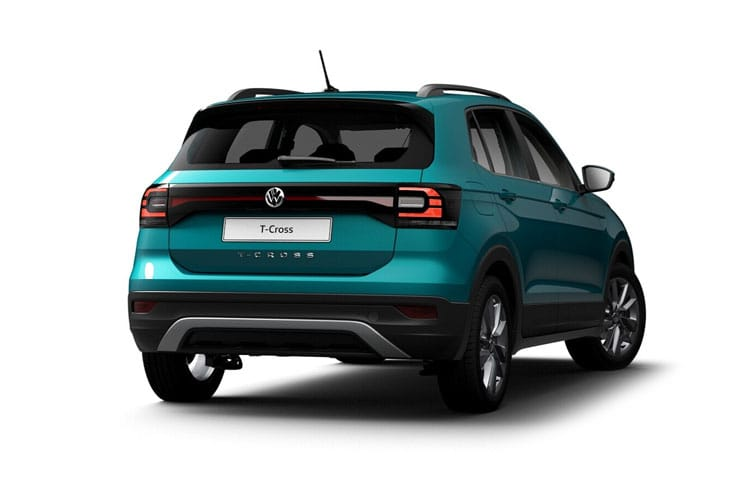Volkswagen T-Cross SUV 1.0 TSI 115PS R-Line 5Dr Manual [Start Stop] back view