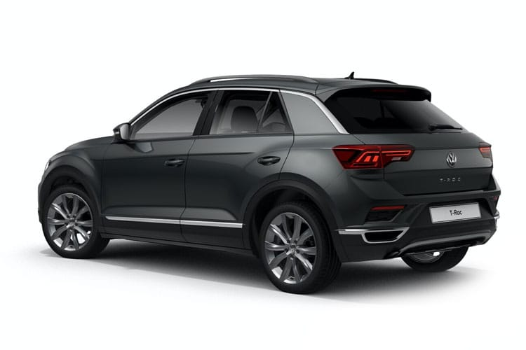 Volkswagen T-Roc SUV 2wd 1.0 TSI 115PS Design 5Dr Manual [Start Stop] back view