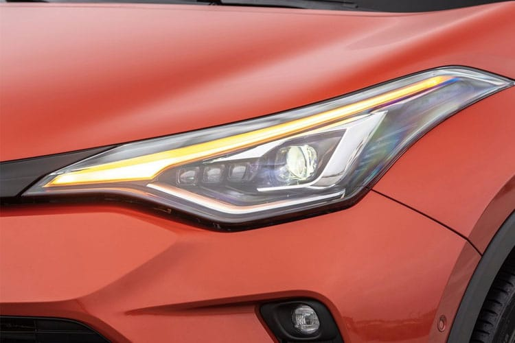 Toyota C-HR 5Dr 2.0 VVT-h 184PS Dynamic 5Dr CVT [Start Stop] [Lthr] detail view