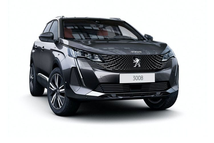 Peugeot 3008 SUV HYBRID4 1.6 PHEV 13.2kWh 300PS GT 5Dr e-EAT [Start Stop] front view