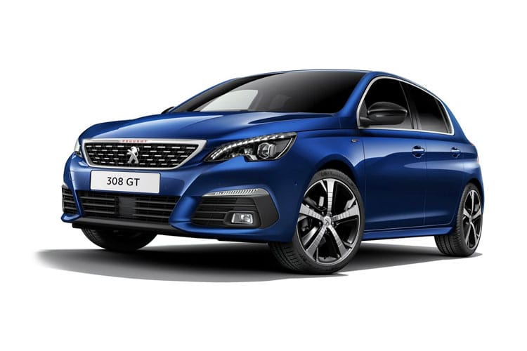 Peugeot 308 Hatch 5Dr 1.6 PureTech 260PS GTi 5Dr Manual [Start Stop] front view