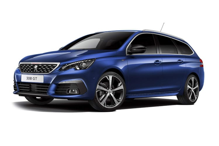 Peugeot 308 SW 5Dr 2.0 BlueHDi 180PS GT 5Dr EAT8 [Start Stop] front view