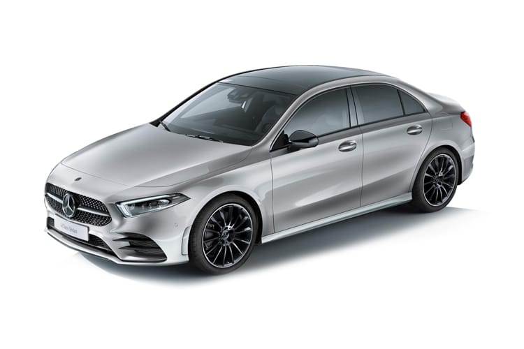 Mercedes-Benz A Class A180 Saloon 4Dr 1.5 d 116PS AMG Line Executive 4Dr 7G-DCT [Start Stop] front view