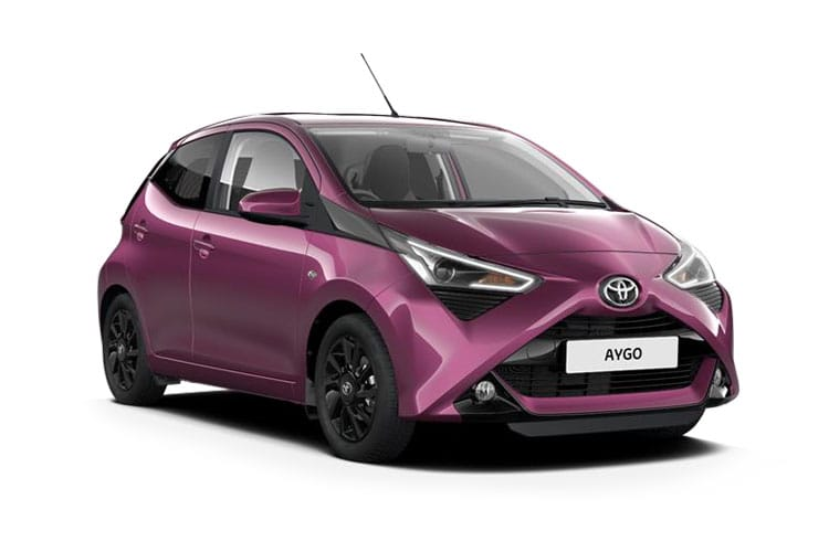 Toyota Aygo Hatch 5Dr 1.0 VVTi 71PS x-trend 5Dr x-shift front view
