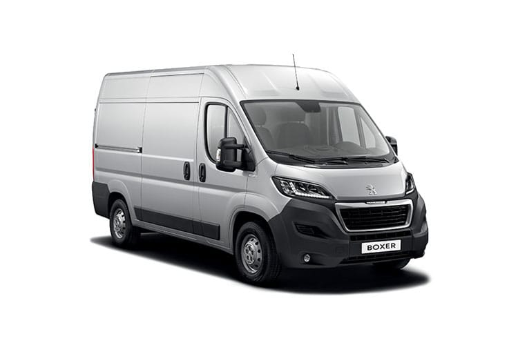 Peugeot Boxer 335 L3 2.2 BlueHDi FWD 140PS Asphalt Van High Roof Manual [Start Stop] front view