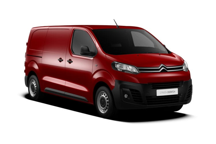 Citroen Dispatch XL 1000Kg 1.5 BlueHDi FWD 100PS Enterprise Van Manual [Start Stop] front view