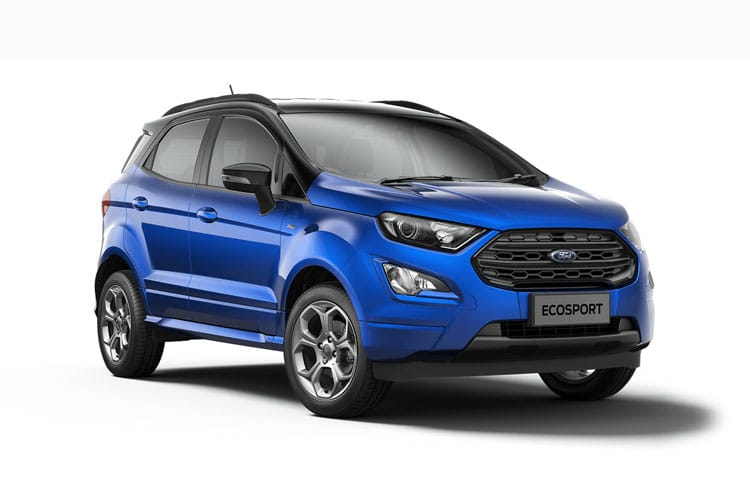 Ford EcoSport SUV 2WD 1.0 T EcoBoost 125PS ST-Line 5Dr Manual [Start Stop] front view