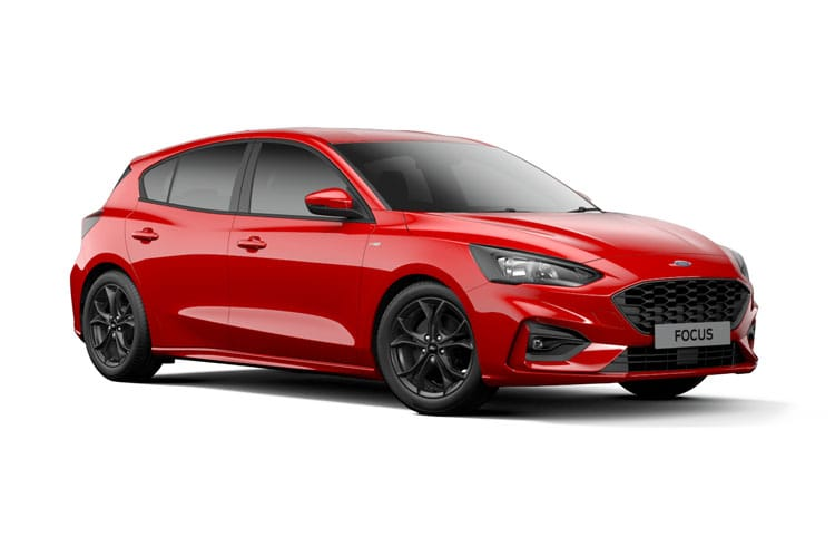 Ford Focus Hatch 5Dr 1.0 T EcoBoost 125PS Titanium Edition 5Dr Auto [Start Stop] front view