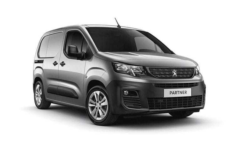 Peugeot Partner Standard 1000Kg 1.5 BlueHDi FWD 75PS Grip Van Manual [Start Stop] front view