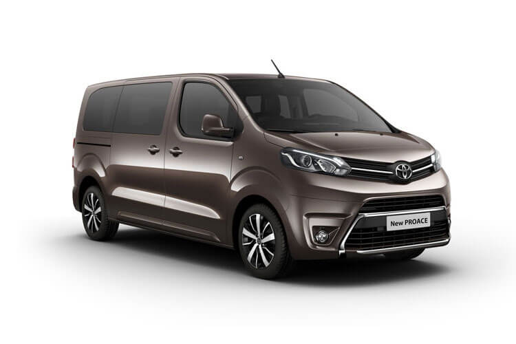 Toyota PROACE Verso Long 2.0 D FWD 150PS Shuttle MPV Manual [Start Stop] [9Seat] front view