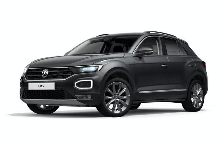 Volkswagen T-Roc SUV 2wd 1.0 TSI 115PS Design 5Dr Manual [Start Stop] front view