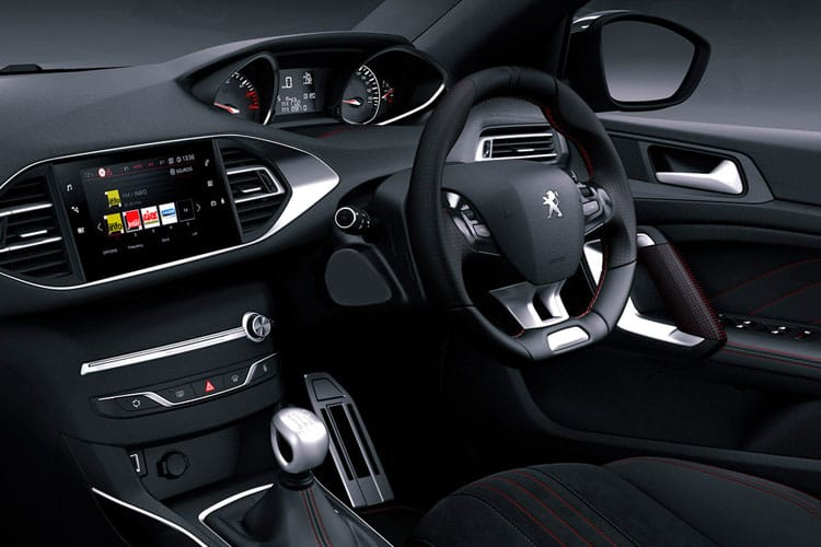 Peugeot 308 SW 5Dr 2.0 BlueHDi 180PS GT 5Dr EAT8 [Start Stop] inside view