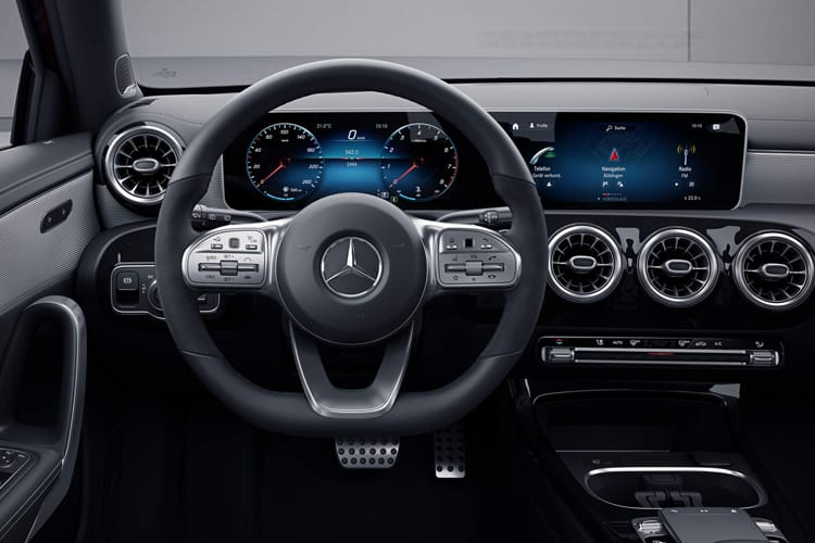 Mercedes-Benz A Class A180 Saloon 4Dr 1.5 d 116PS AMG Line Executive 4Dr 7G-DCT [Start Stop] inside view