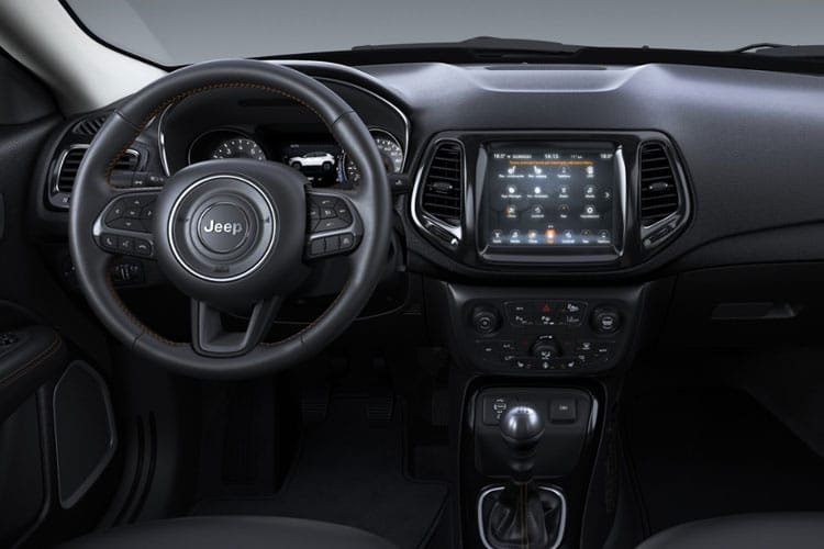 Jeep Compass SUV 4WD 1.4 T MultiAirII 170PS S 5Dr Auto [Start Stop] inside view
