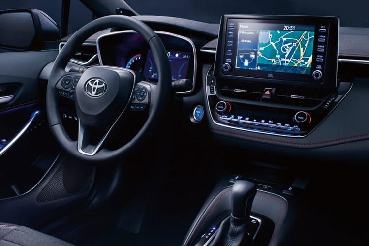 Toyota Corolla Touring Sports 2.0 VVT-h 184PS Icon Tech 5Dr CVT [Start Stop] inside view