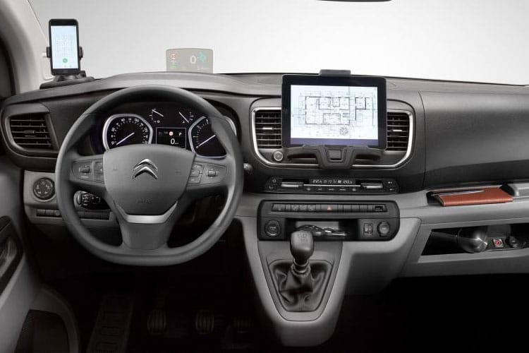 Citroen Dispatch XL 1000Kg 1.5 BlueHDi FWD 100PS Enterprise Van Manual [Start Stop] inside view