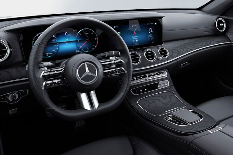 Mercedes-Benz E Class E300e Estate 2.0 d PiH 13.5kWh 306PS AMG Line Edition 5Dr G-Tronic+ [Start Stop] inside view