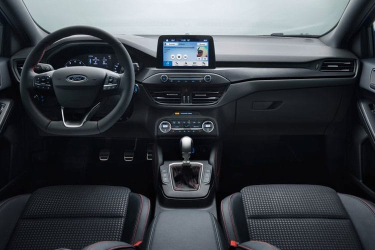 Ford Focus Hatch 5Dr 1.0 T EcoBoost 125PS Titanium Edition 5Dr Auto [Start Stop] inside view
