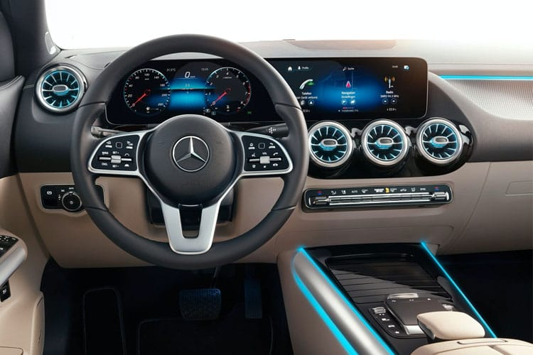 Mercedes-Benz GLA GLA220 SUV 4MATIC 2.0 d 190PS AMG Line 5Dr 8G-DCT [Start Stop] inside view