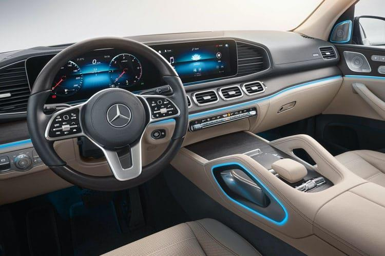 Mercedes-Benz GLS GLS400 SUV 4MATIC 3.0 d 330PS AMG Line Premium 5Dr G-Tronic [Start Stop] inside view