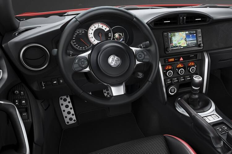 Toyota GT86 Coupe 2Dr 2.0 Boxer D-4S 200PS Pro 2Dr Manual [Touch & Go] inside view