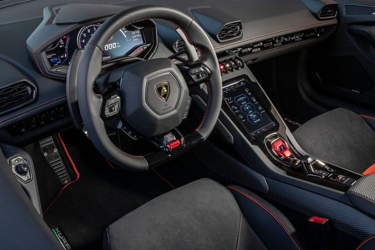 Lamborghini Huracan Coupe 5.2 V10 610PS LP 610-4 2Dr LDF [Start Stop] inside view