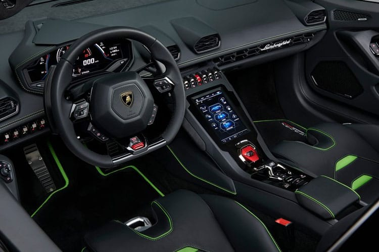 Lamborghini Huracan Spyder 5.2 V10 640PS Performante LP 640-4 2Dr LDF [Start Stop] inside view