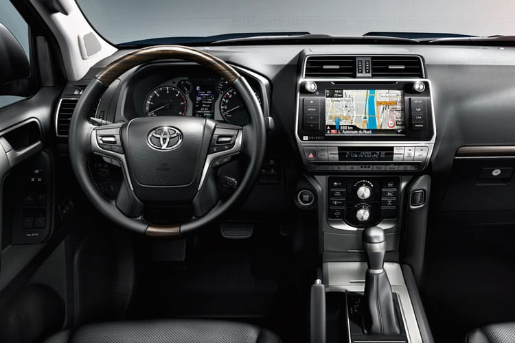 Toyota LandCruiser SUV 4wd 2.8 D 177PS Icon 5Dr Auto [7Seat] inside view