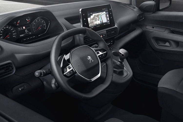 Peugeot Partner Standard 1000Kg 1.5 BlueHDi FWD 75PS Grip Van Manual [Start Stop] inside view