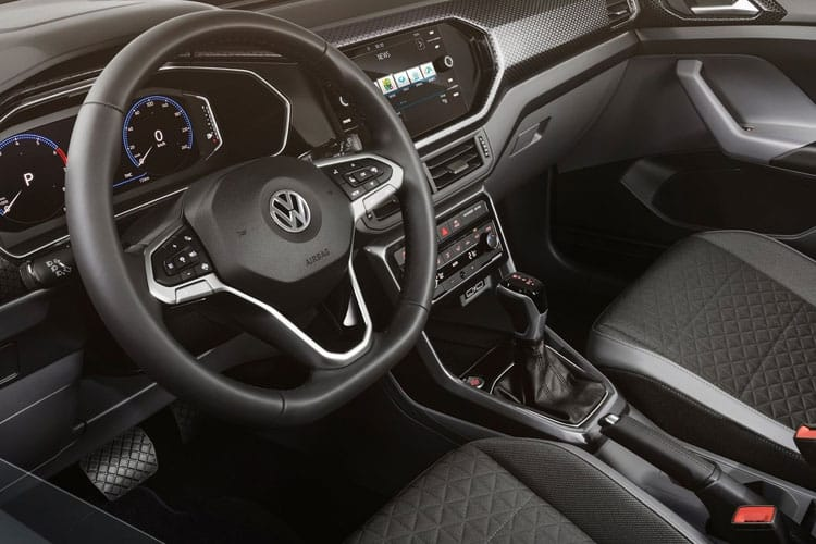 Volkswagen T-Cross SUV 1.0 TSI 115PS R-Line 5Dr Manual [Start Stop] inside view