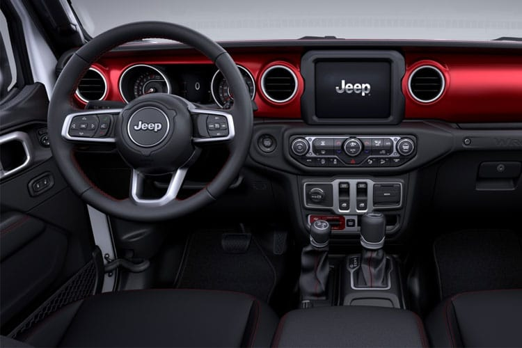 Jeep Wrangler SUV 2Dr 2.0 GME 272PS Sport 2Dr Auto [Start Stop] inside view